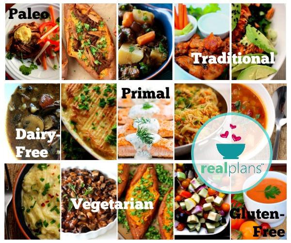 Real Food Menu Plans