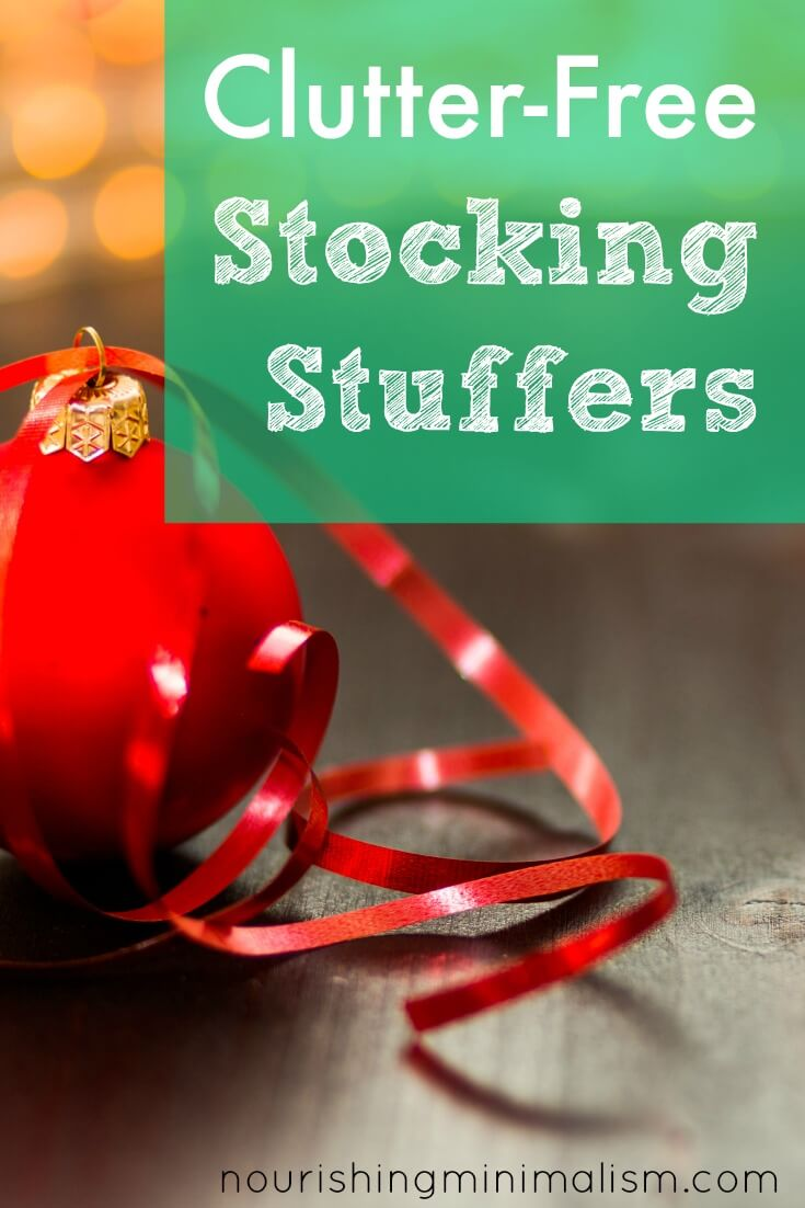 Clutter-Free Stocking Stuffers