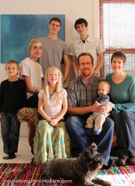Nourishing Minimalism Jones Family