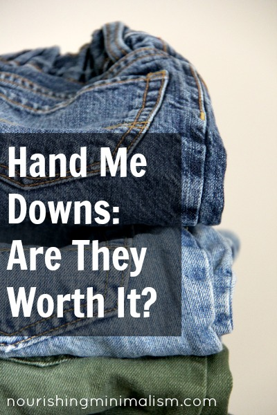 hand me downs