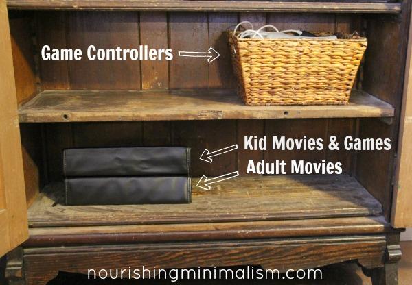 How To Organize Dvds Nourishing Minimalism