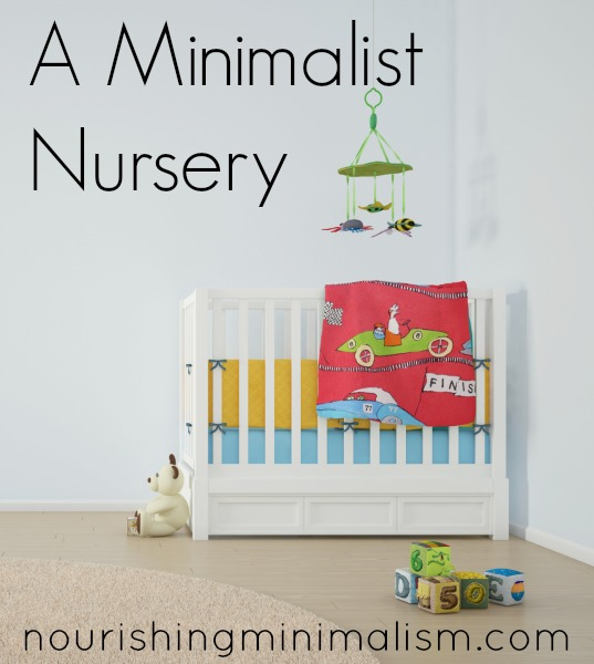 A Minimalist Nursery