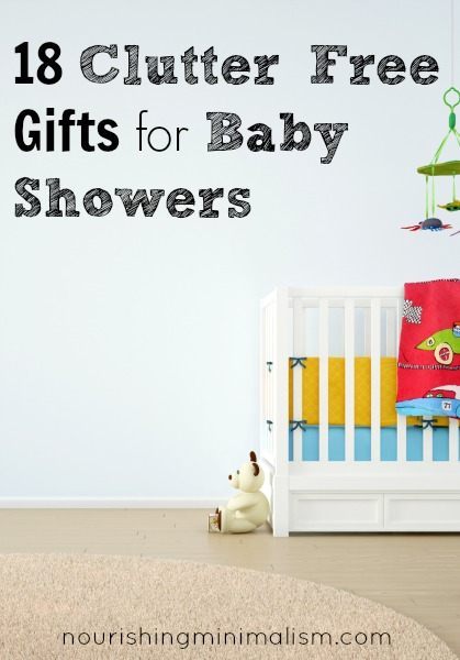 18 Clutter Free Gifts for Baby Showers