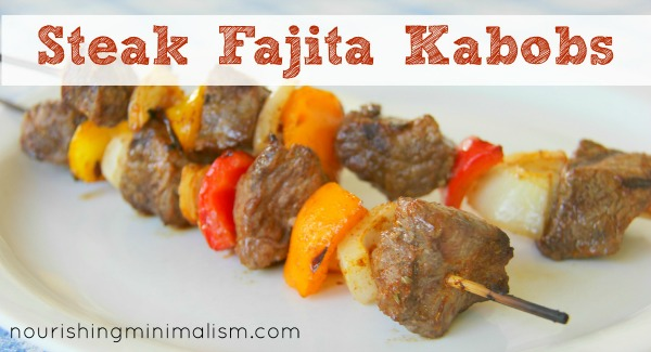 Steak Fajita Kabobs Easy and SO YUMMY!