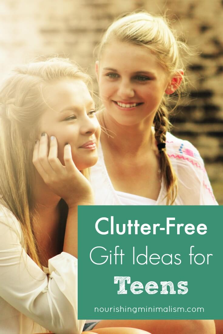 18 Clutter-Free Gift Ideas for Teens