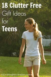18 Clutter Free Gift Ideas for Teens