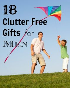18 Clutter Free Gifts for Men