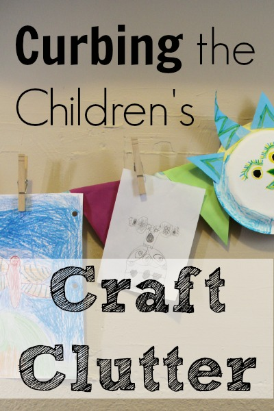 Curbing the Children's Craft Clutter