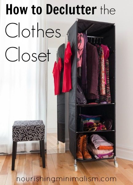 How to Declutter the Clothes Closet