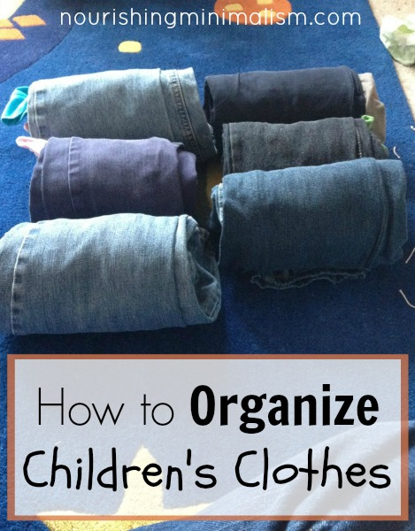 How to Organize Children's Clothes