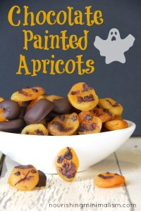 Chocolate Dipped or Painted Apricots