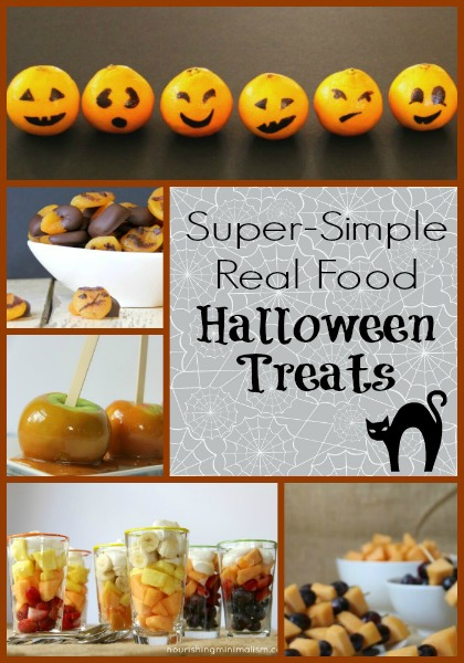 Super Simple Real Food Halloween Party Food