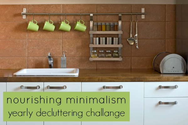 yearly decluttering challenge