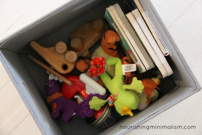 Minimalist Baby Toy Box