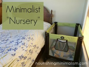 "What's It Like To Be A Minimalist With A Baby? Check Out Our Minimal Baby ""Room"""