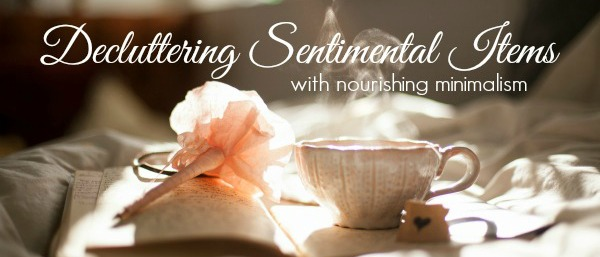 decluttering sentimental items - minicourse 3