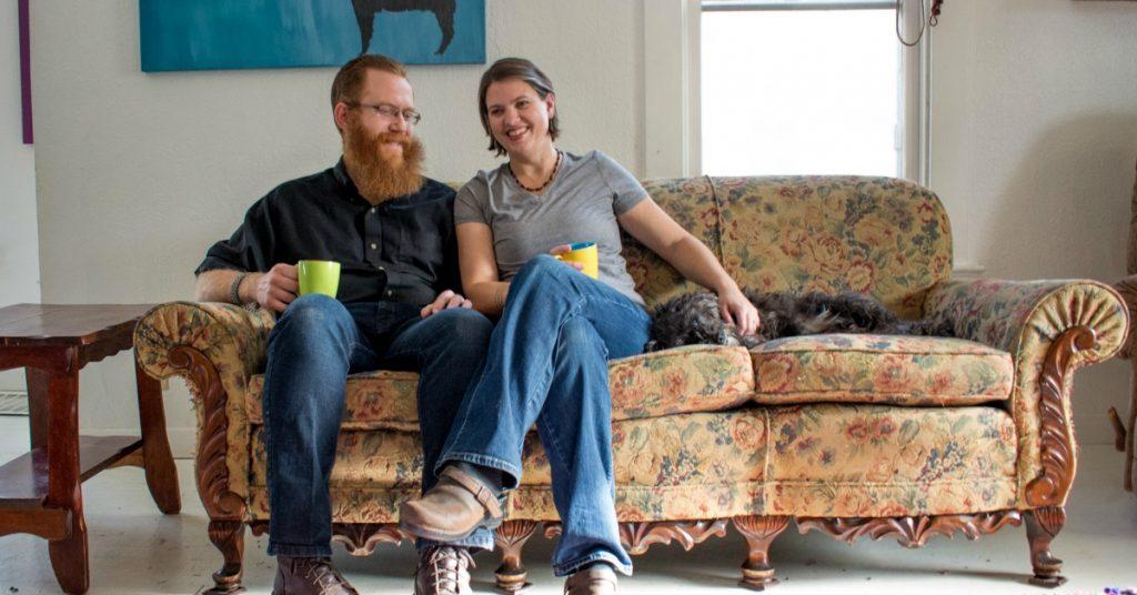 Nourishing Minimalism - Minimalist Living Room
