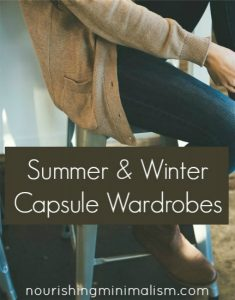 Summer and Winter Capsule Wardrobes