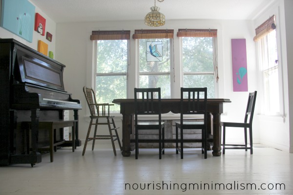 Minimalist Dining Room Tour