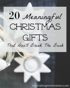 20 Meaningful Christmas Gifts That Don't Break The Bank