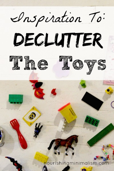 Inspiration To: Declutter The Toys