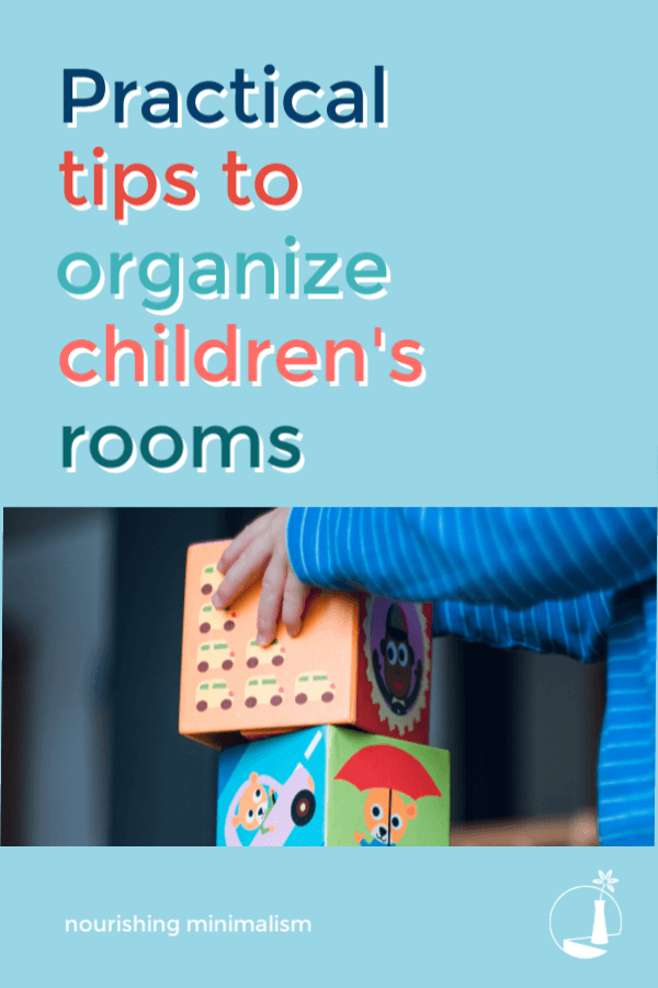When you are organizing a child's room, the more streamlined it is, the more likely kids are to follow through with keeping it clean and organized.
