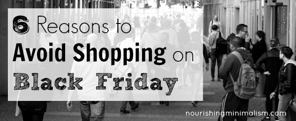 6 Reasons To Avoid Shopping On Black Friday