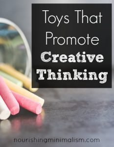 Children's Toys That Promote Creative Thinking