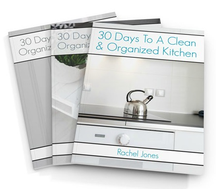 30 Days To A Clean And Organized Home Workbooks
