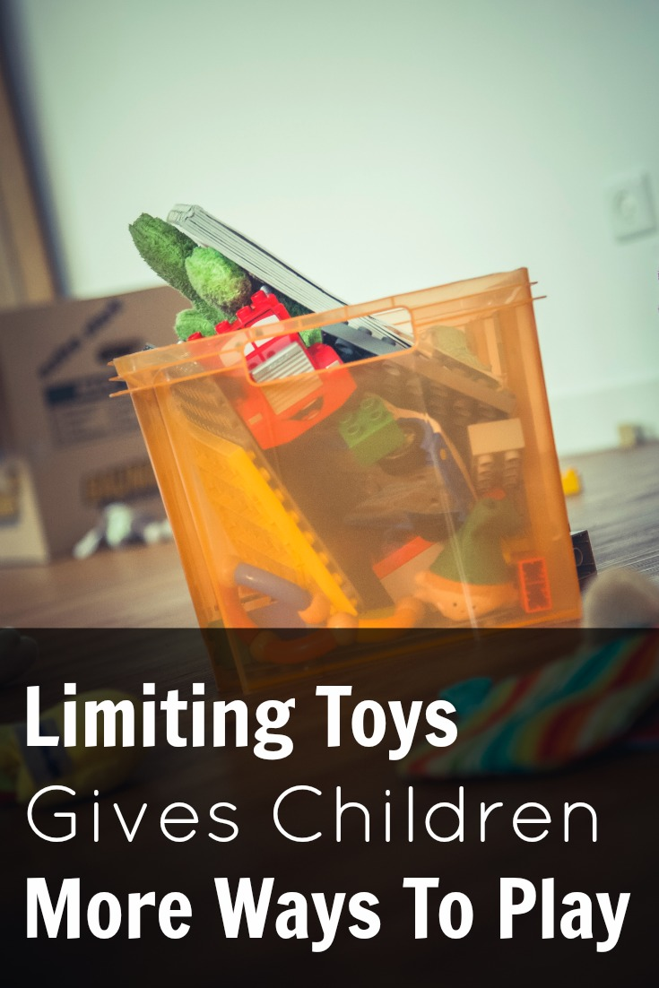 Limiting Toys Gives Children More Ways To Play