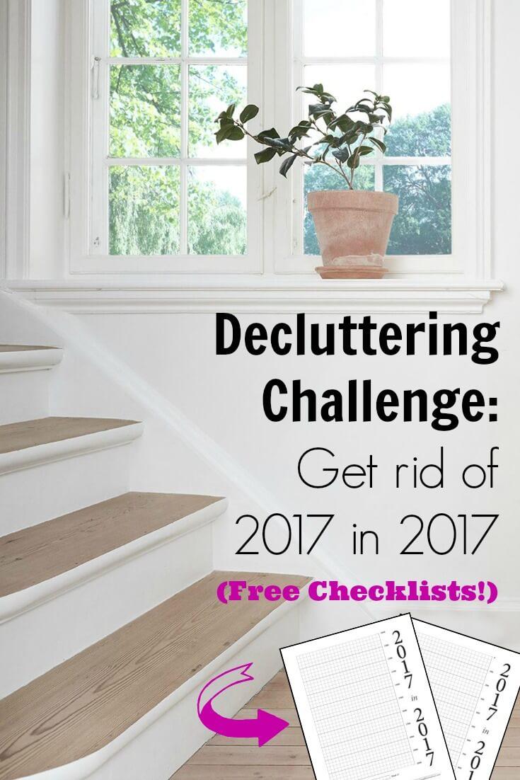 2017 in 2017 Decluttering Challenge