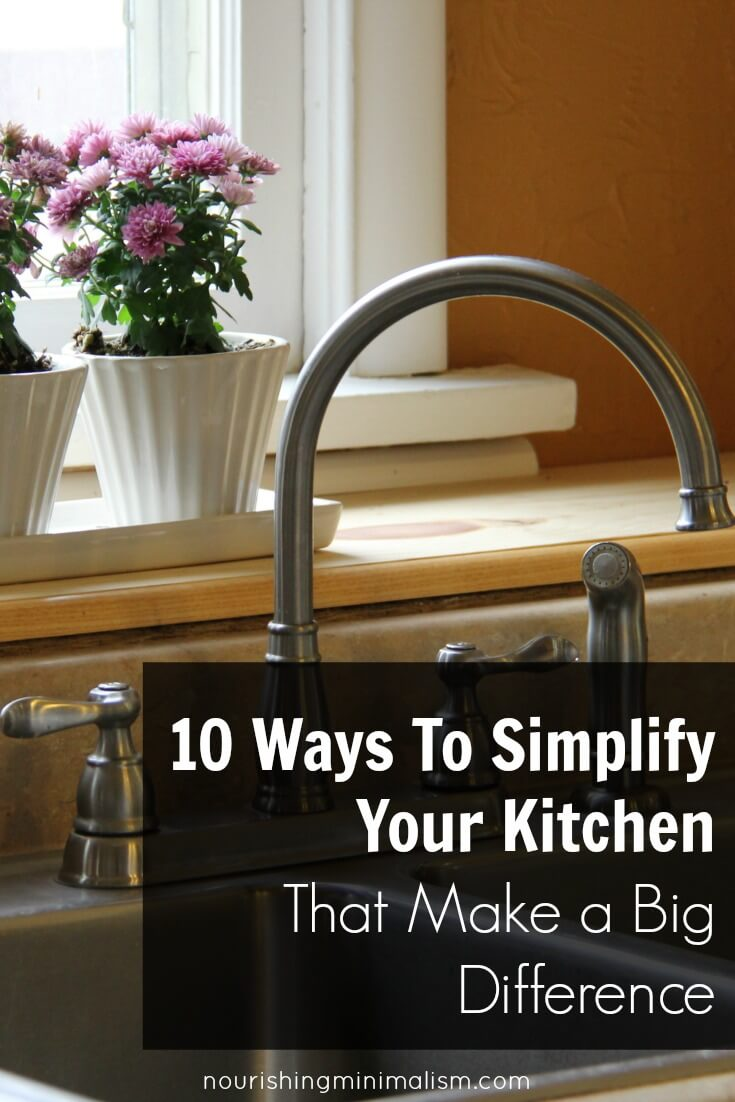 10 Ways To Simplify Your Kitchen That Make a Big Difference 1