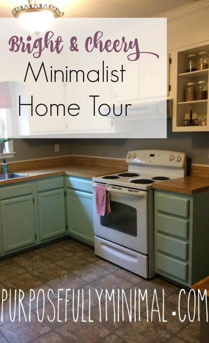 Bright cheery minimalist home tour heather for Minimalist home tour