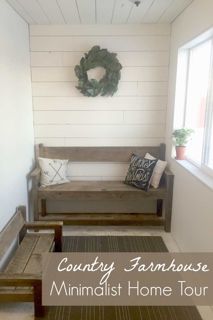 Country Farmhouse Minimalist Home Tour