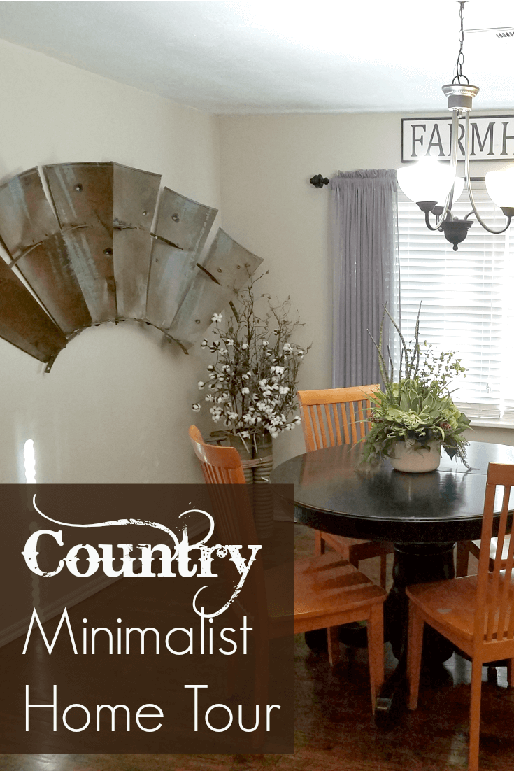 Country minimalist home tour cori nourishing minimalism for Minimalist home tour