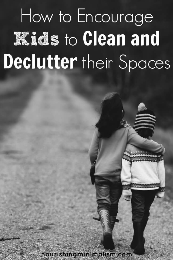 How to Encourage Kids to Clean and Declutter their Spaces