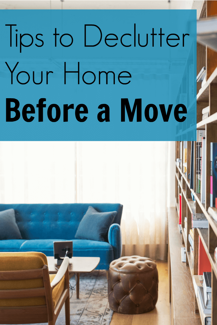 Tips to Declutter Your Home Before a Move