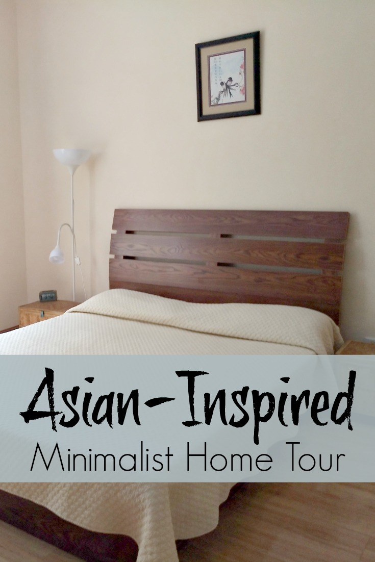 Asian inspired minimalist home tour lori nourishing for Minimalist home tour