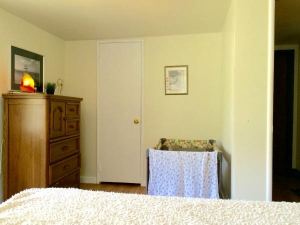 Minimalist Bedroom - with Baby