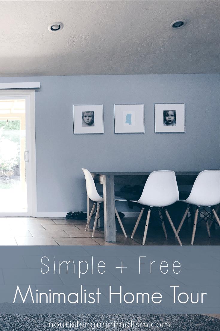 Simple + Free Minimalist Home Tour