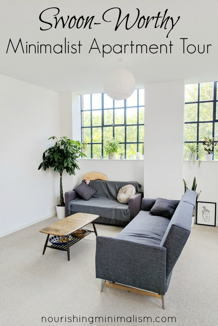 Swoon-Worthy Minimalist Apartment Tour