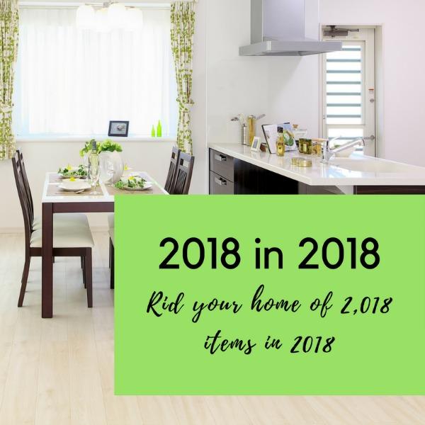 Declutter 2018 in 2018