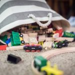 Decluttering Toys with the Kids