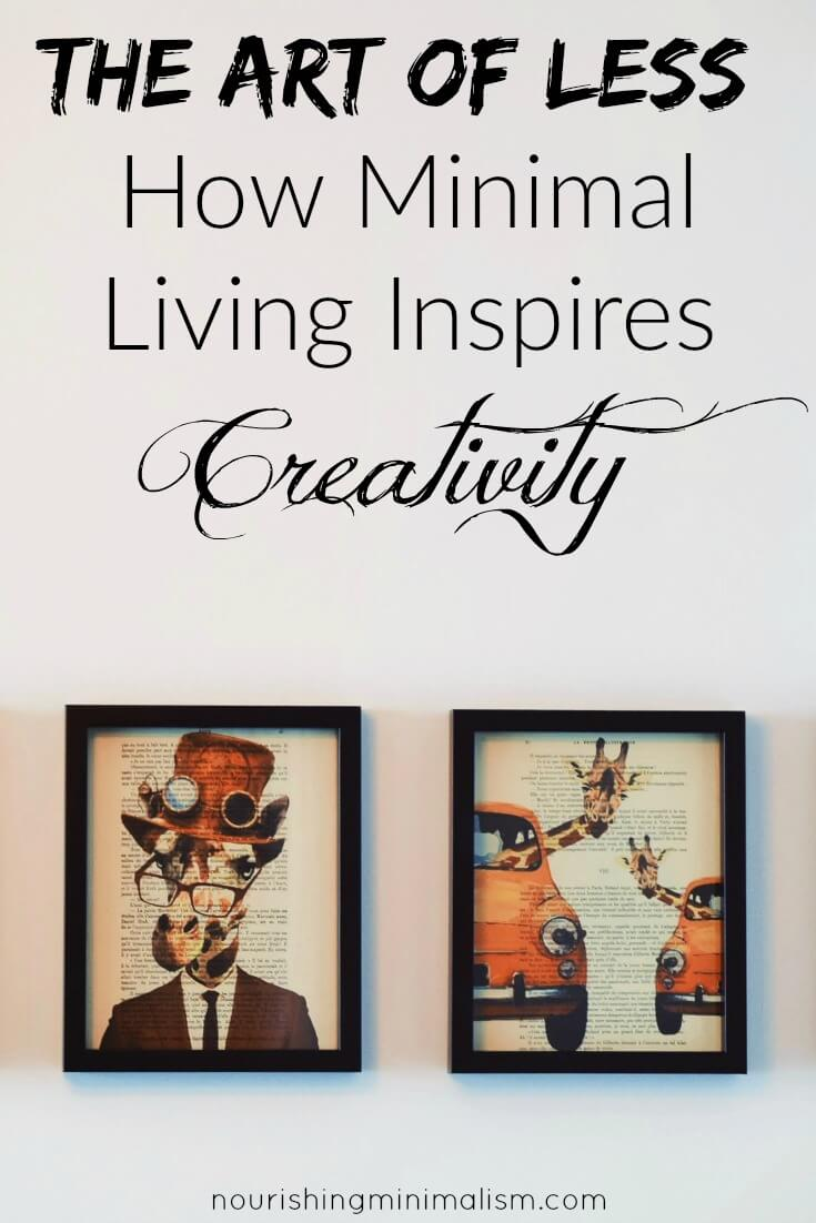 The Art of Less How Minimal Living Inspires Creativity (1)