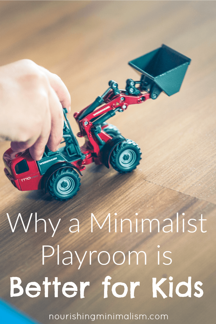 Why a Minimalist Playroom is Better for Kids