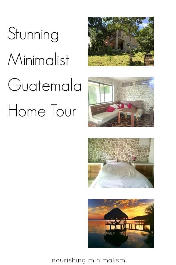 Stunning minimalist guatemala home tour pauline for Minimalist home tour