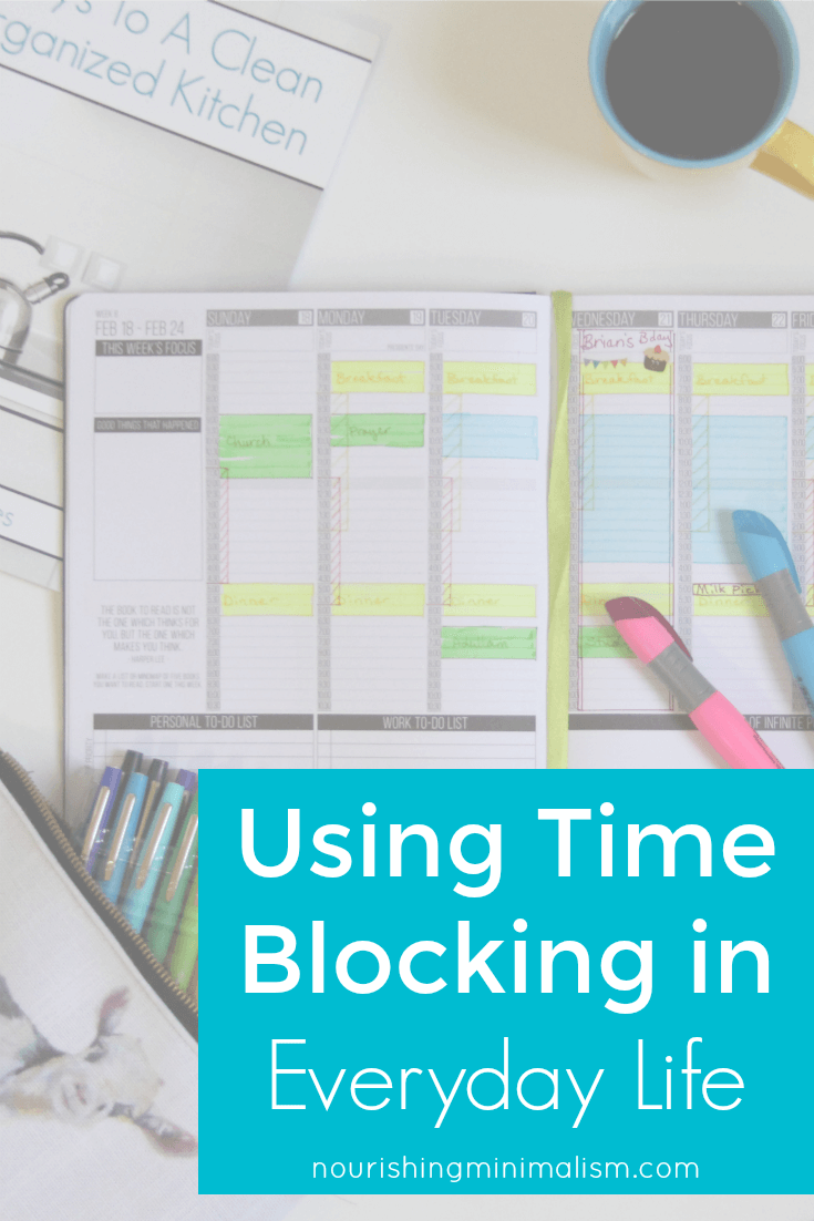 Using Time Blocking in Everyday Life (1)