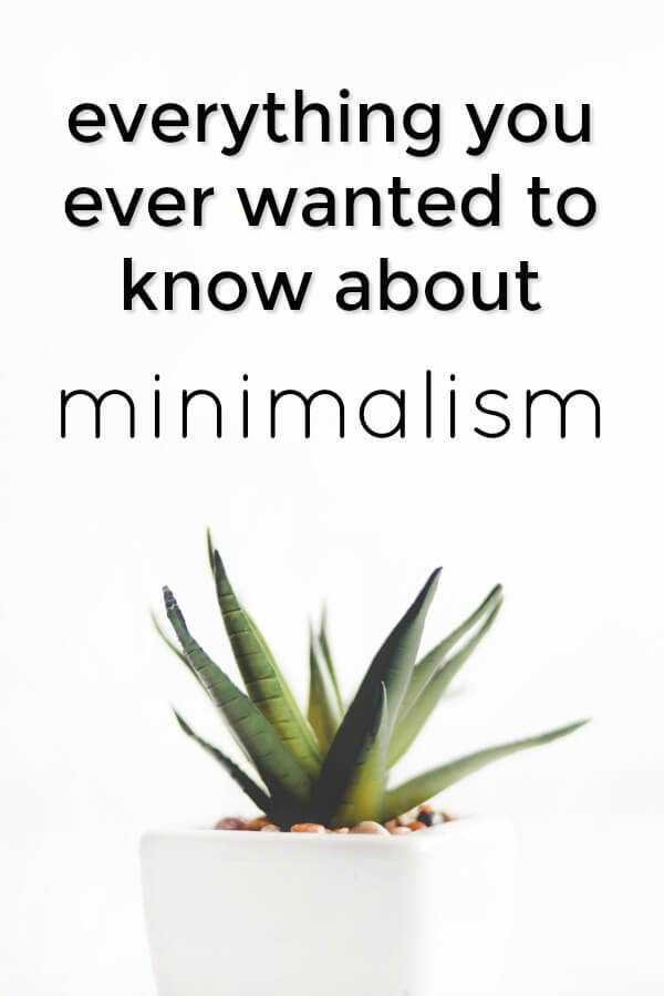 everything you ever wanted to know about minimalism