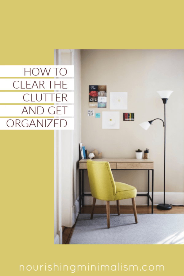 So if you're wondering how to clear clutter and keep things organized, the key is to be drastic when you declutter and be conscious when you shop to not bring things back into the house. The key is only to have what is essential.