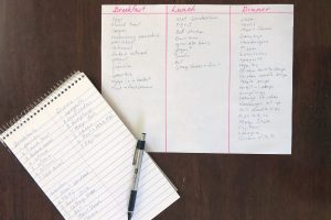 How to make menu planning a breeze